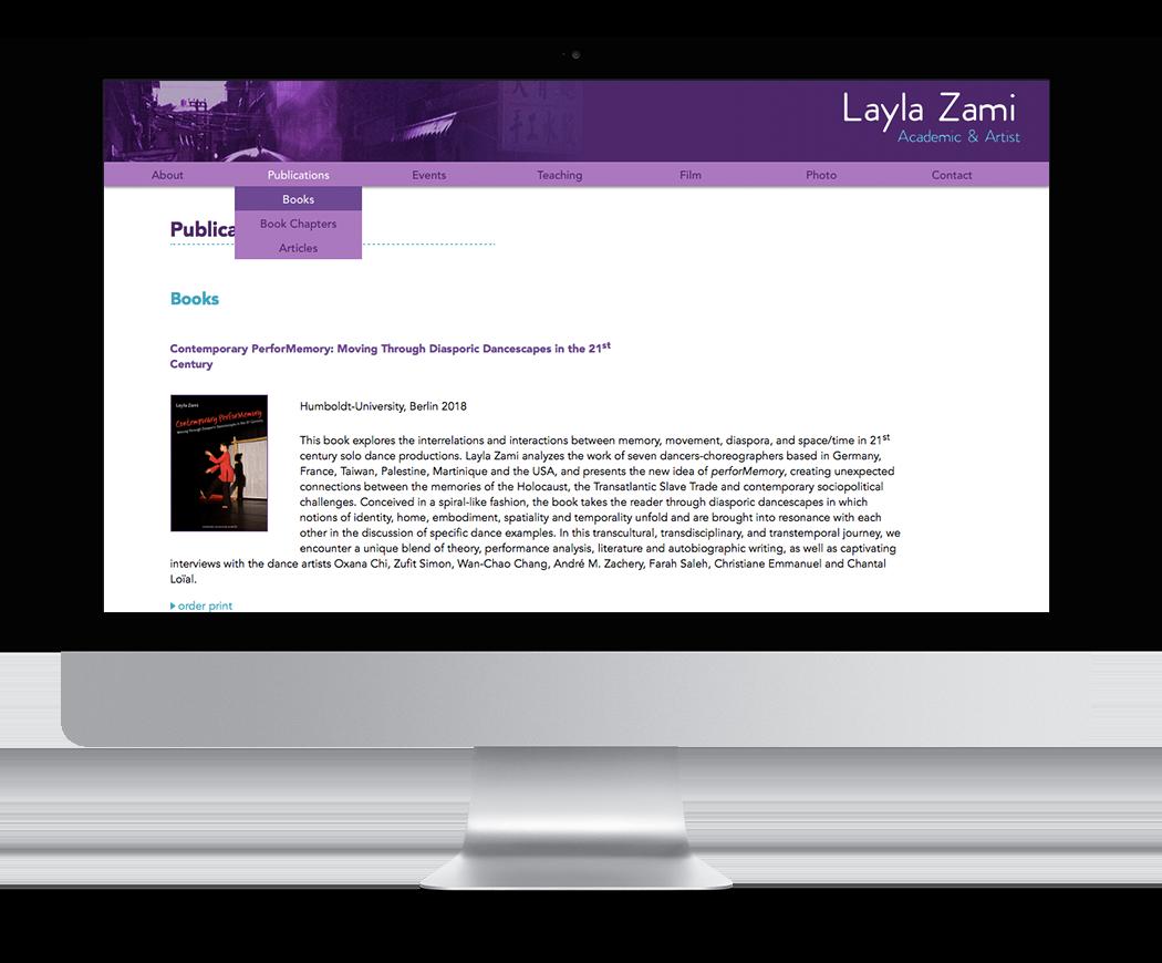 Graphonautik Webdesign Layla Zami